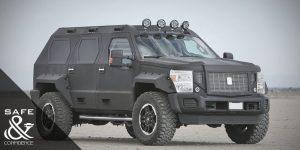 Los autos blindados más seguros del mundo