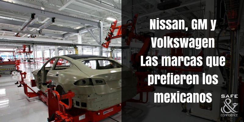 Nissan-GM-y-Volkswagen-las-marcas-que-prefierne-los-mexicanos-autos-seguridad-safe-confidence