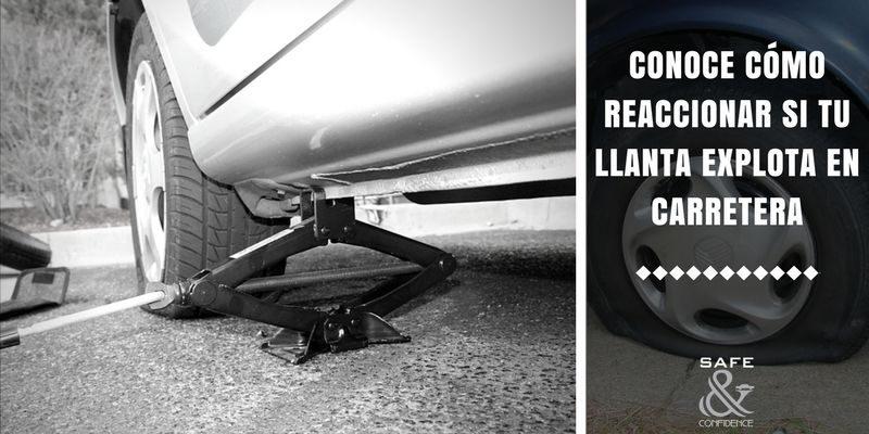 ¿Qué hacer si el neumático se revienta en plena circulación?