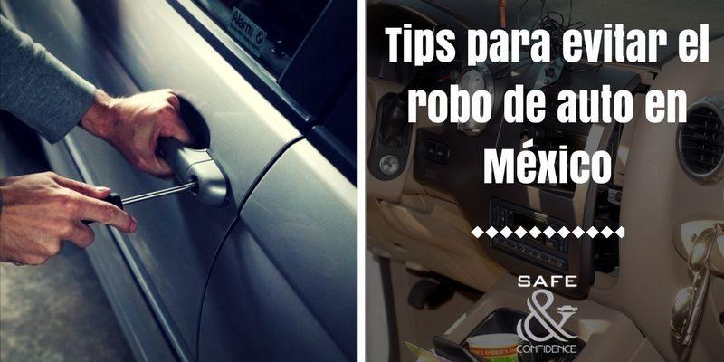 Evita que te roben el coche y sigue estos consejos