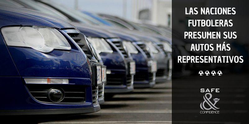 A poco para el mundial, checa los autos más representativos de las naciones que competirán