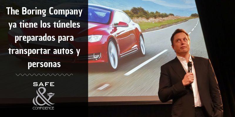 Los túneles de transporte privado de Elon Musk se preparan para su debut