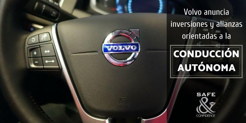 Volvo fija la mirada hacia el futuro de la mano de la conducción autónoma