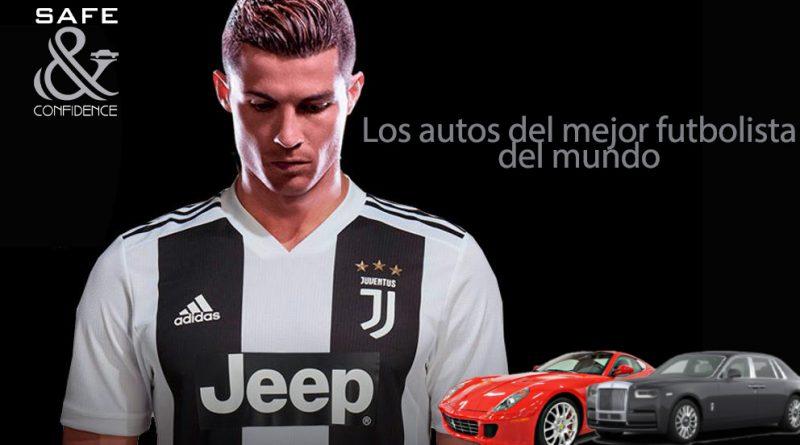 Los autos más seguros de Cristiano Ronaldo (CR7)