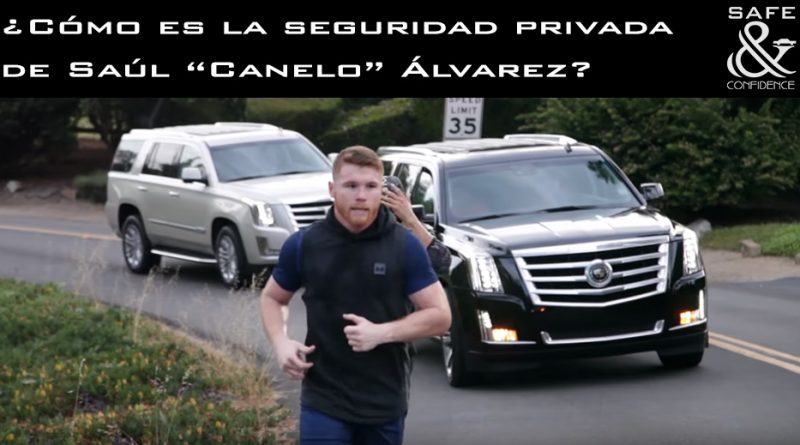 ¿Cómo es la seguridad privada de Saúl Canelo Álvarez?