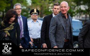 Seguridad privada de Jeff Bezos - Safe&Confidence