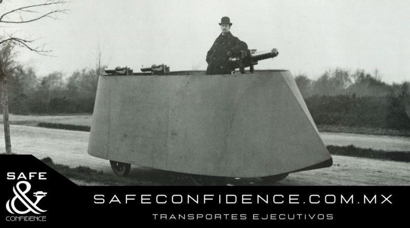 Historia de las camionetas y autos blindados