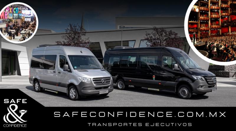 Diferentes tipos de transporte para eventos